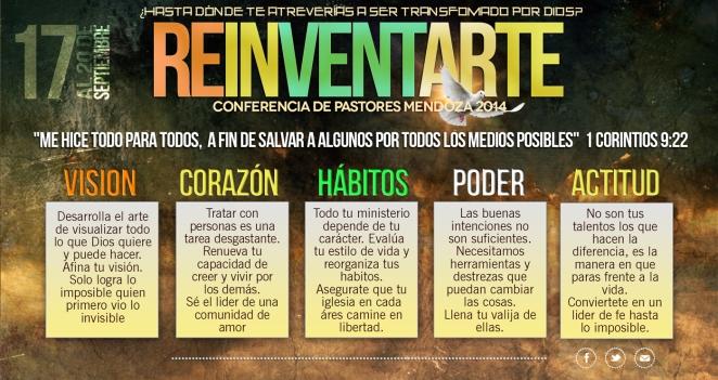 Reinventarte - Conferencia de Pastores Mendoza 2014